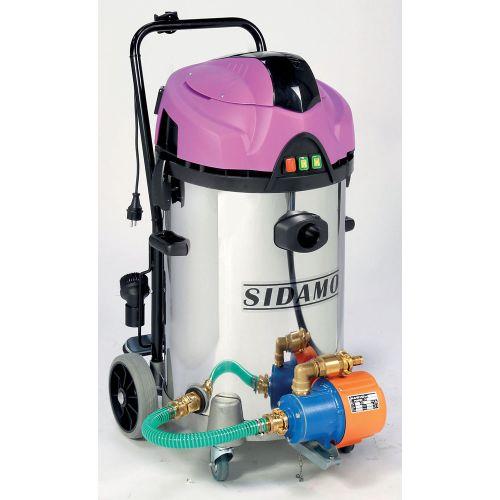 Aspirateur eau et poussières Sidamo cuve inox JET 60 iRE photo du produit Secondaire 2 L