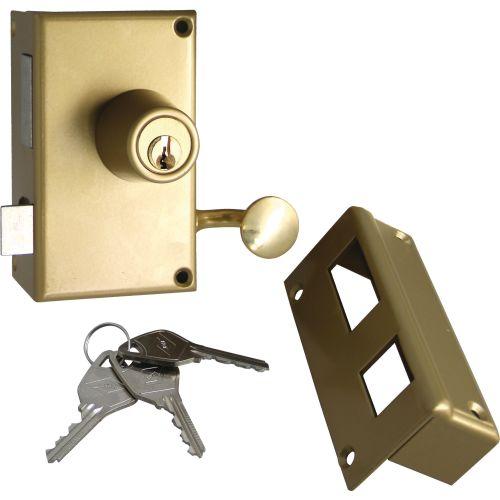 Serrure 1 point VEGA vertical tirage droite cylindre de 45 mm BY2670 - JPM - 121000-01-1A07 pas cher Principale L