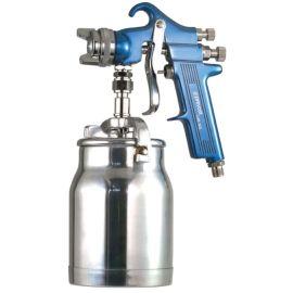 Pistolet de peinture pneumatique Prevost à godet photo du produit Principale M