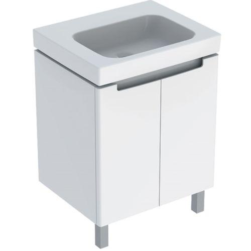 Ensemble meuble salle de bain avec vasque céramique blanc photo du produit