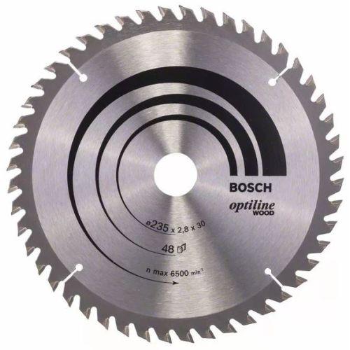 Lame de scie circulaire 160x20x2,6 mm pour le bois - 48 dents - BOSCH - 2608640732 pas cher