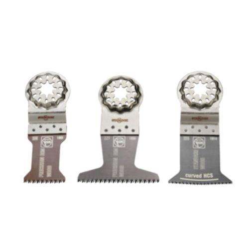 Combo 3 lames de scie Fein E-Cut Starlock spécial bois photo du produit