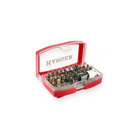 Coffret d'embouts couleurs de 32 pièces - HANGER - 250002 pas cher