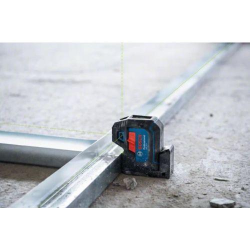 Laser vert 5 points GPL 5 G avec 2 piles AA - BOSCH - 0601066P00 pas cher Secondaire 2 L