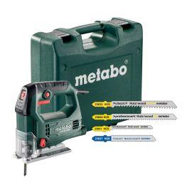 Scie sauteuse Metabo STEB 65 Quick Set 450 W + accessoires photo du produit
