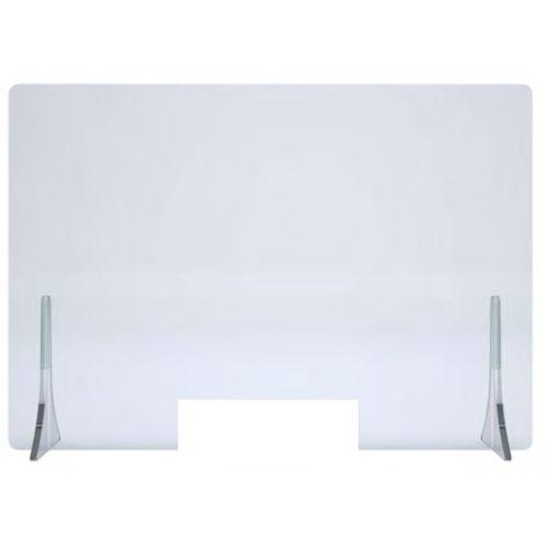 Ecran de protection en plexiglass avec pieds 1000x600x4mm - HERACLES - PLEXI-100 pas cher