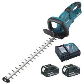 Taille-haie sans-fil Makita 65 cm DUH651RF2 36 V + 2 batteries 3 Ah + chargeur pas cher