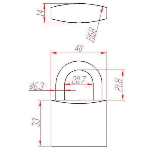 Cadenas inox ONIX 040 - HERACLES - CAD-O40 pas cher Secondaire 1 L