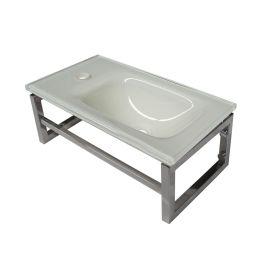 Lave-mains blanc 10 cm x 40 cm (HxL) pas cher