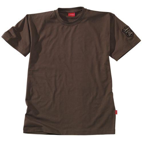 Tee shirt C Stone Patch coloris gris charbon taille M - LAFONT - CSTONE176M pas cher