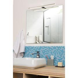 Spot de salle de bains avec éclairage LED chrome PRADEL pas cher