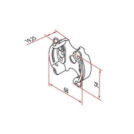 Support moteur de diamètre 45mm photo du produit