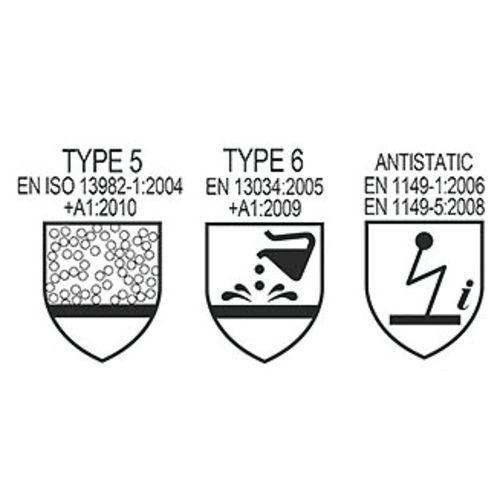Combinaisons jetables TYVEK® 600 Taille M - DUPONT DE NEMOURS - CT74V2 - DUPONT DE NEMOURS - CT74V2 pas cher Secondaire 1 L