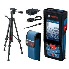 Télémètre laser Bosch GLM 120 C Professional 3,6 V + chargeur + trépied BT 150 pas cher
