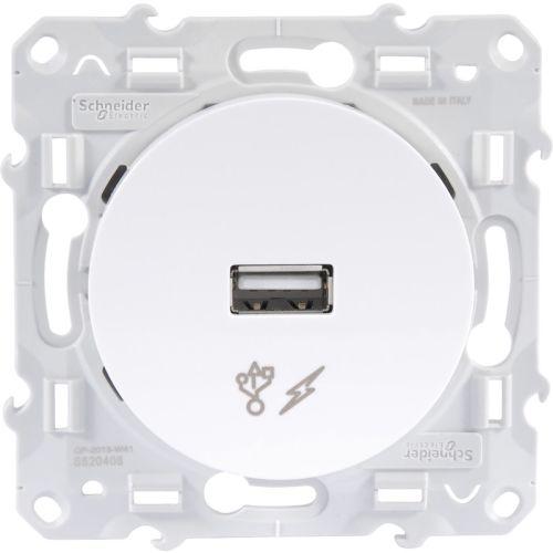 Prises USB blanches photo du produit