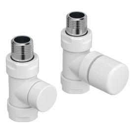 """Kit de robinetterie manuel thermostatisable droit blanc 1/2"""" ACOVA photo du produit"""
