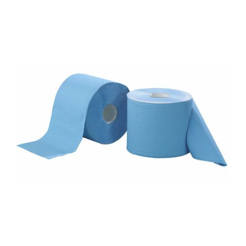 Bobines ouate bleue 3 plis photo du produit