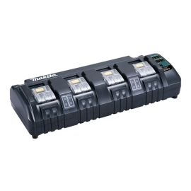Chargeur 4 batteries Makita Makstar Li-Ion 14,4 - 18 V DC18SF pas cher