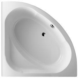 Baignoire DOMO 135X135 cm avec châssis et Tablier pas cher