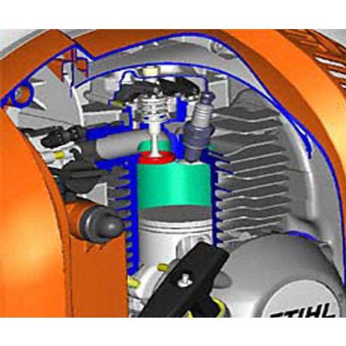 Souffleur à dos thermique BR 800 C-E - STIHL - 4283-011-1603 pas cher Secondaire 2 L