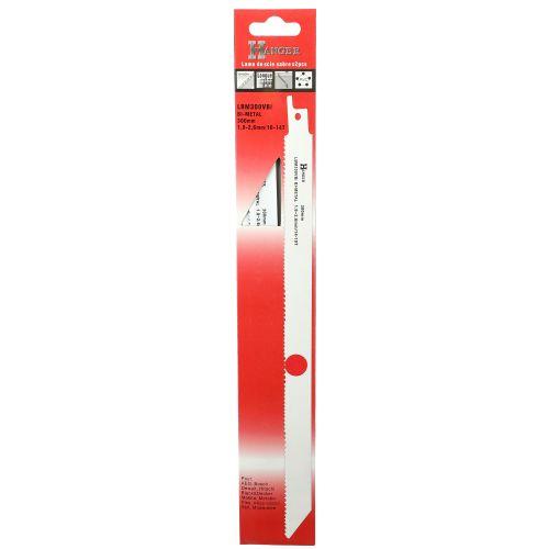 2 lames pour scie sabre (LBM300VBI) - HANGER - 150303 pas cher Secondaire 1 L