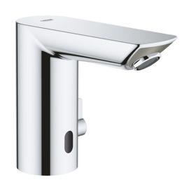 Mitigeur de lavabo infrarouge Grohe Bau cosmopolitan E pas cher