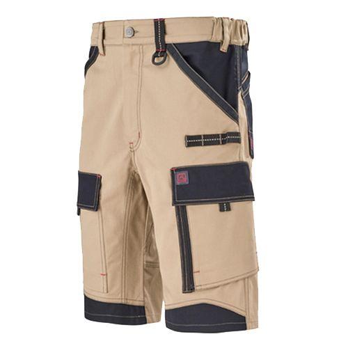 Bermuda de travail homme CRUSHER beige/noir taille 1 - LAFONT - 1ATBUP204BN.1 pas cher