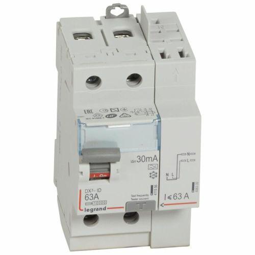 Interrupteur différentiel 63A 300mA type AC DX³-ID vis/vis 2P 230V~ départ bas 2 modules - LEGRAND - 411526 pas cher Secondaire 5 L