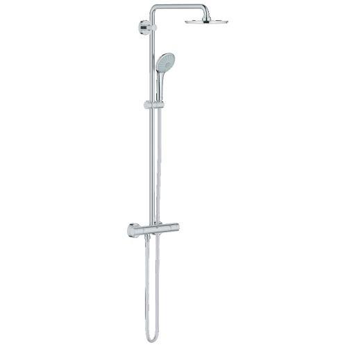 Colonne de douche Euphoria System 210 avec mitigeur thermostatique - GROHE - 27964000 pas cher