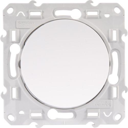 Interrupteurs et poussoirs blancs photo du produit