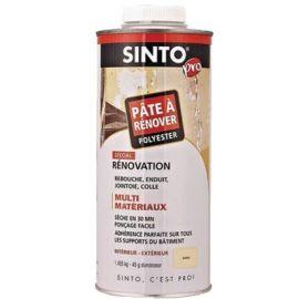 Pâte à rénover Sinto sans styrène + durcisseur pas cher