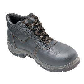 Chaussures de sécurité hautes en cuir Tec safety Workwear S1P pas cher