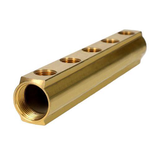 Collecteur R551 6 Départs 1'1/4-1/2 - GIACOMINI - R551Y086 pas cher Secondaire 6 L