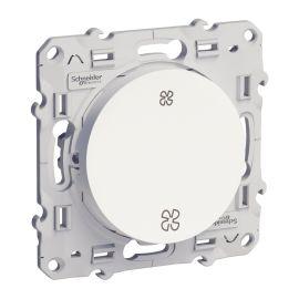 Odace, interrupteur VMC Blanc, sans position arrêt, à vis pas cher