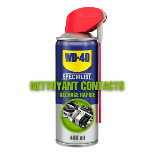 Nettoyant contact séchage rapide aérosol 400 ml - WD-40 SPECIALIST - 33368 pas cher Secondaire 2 L
