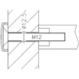 Accessoires pour poignées tubulaires Normbau - Série NT photo du produit
