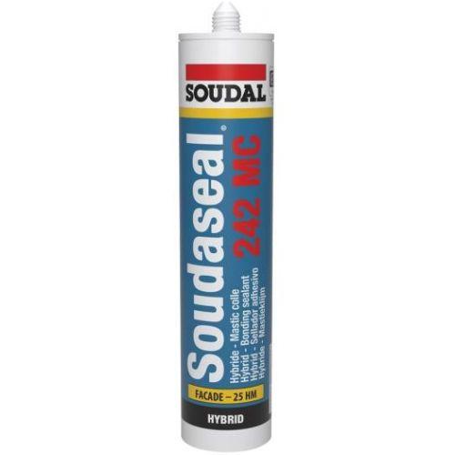 Mastic colle Soudaseal 242 MC blanc 290 ml - SOUDAL - 131185 pas cher
