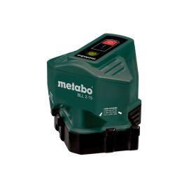 Laser à lignes de sol Metabo BLL 2-15 + 3 AA x 1,5 V + boîte carton pas cher Principale M