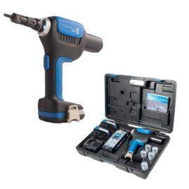 Sertisseuse sans-fil Scell-it 18 V - écrous à sertir M3 à M8 + 2 batteries 2Ah + chargeur + coffret pas cher