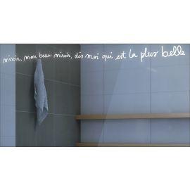 Miroir avec éclairage LED Mon Beau Miroir Par Joël Guenoun 65 cm x 120 cm (HxL) PRADEL pas cher
