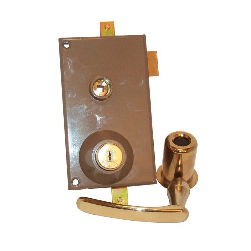 Mécanisme Fichet 3001 787 cylindre dorée gauche - FICHET - 74643684 pas cher Principale L