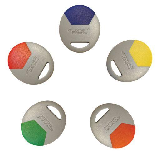 Badge MIFARE format porte orange - COMELIT - CLE/O pas cher Principale L