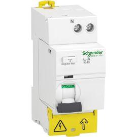 Interrupteur différentiel 40A 30mA DT40 - SCHNEIDER ELECTRIC - A9R67640 pas cher