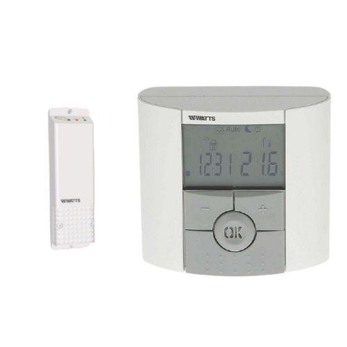 Thermostat digital programmable Watts BT-DP02 RF + récepteur photo du produit