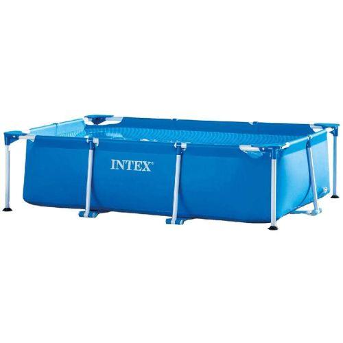 Piscine tubulaire Métal Frame Junior rectangulaire bleue 260 x 160 x 65 cm - INTEX - 28271NP pas cher Principale L
