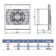 Aérateur plat Unelvent Decor 100 photo du produit Secondaire 1 S