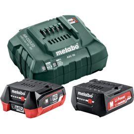 Pack énergie 12 V batterie 4 Ah + batterie 2 Ah + chargeur en boîte carton - METABO - 685302000 pas cher Principale M