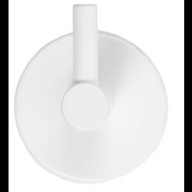 Patère AKW en epoxy Blanc photo du produit