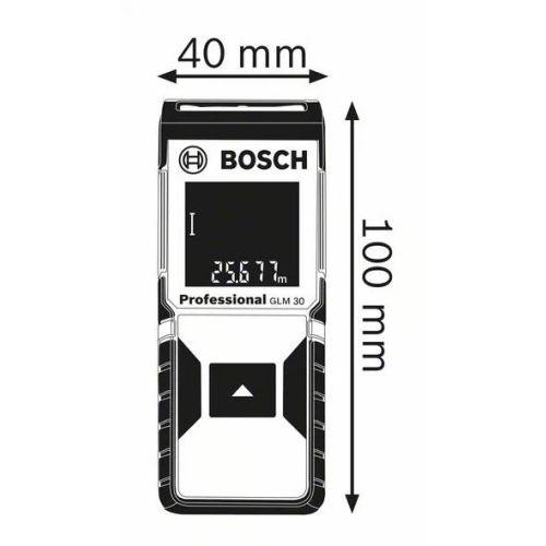 Télémètre GLM 30 Professional en boite carton - BOSCH - 0601072500 pas cher Secondaire 1 L