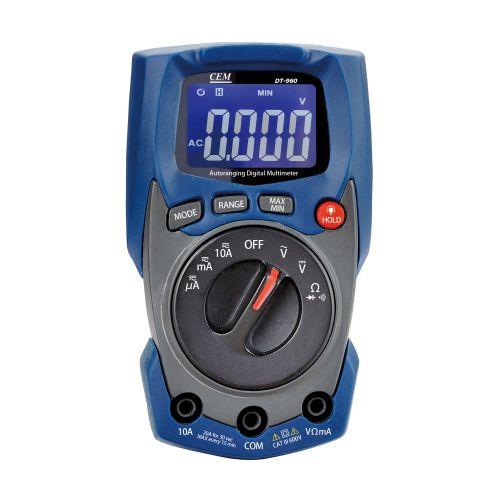 Multimètre numérique compact - TURBOTRONIC - TT960 pas cher Principale L